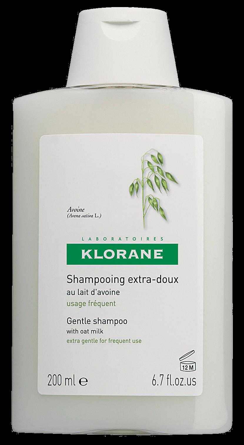klorane shampoing extra doux au lait davoine - Shampoing Colorant Cheveux Blancs