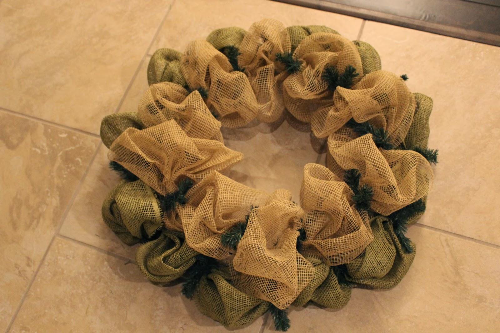 Mesh wreaths two colors reanimators