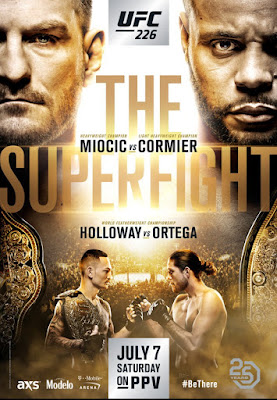 UFC 226 Miocic Vs. Cormier 2018 Custom HD Dual Latino