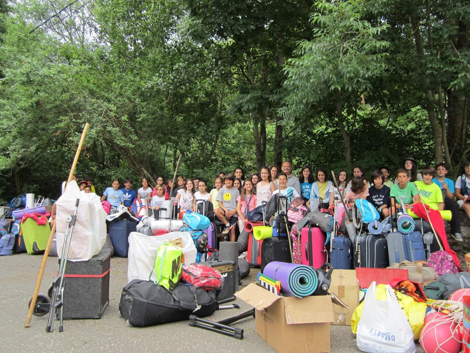 camping san pelayo campamento jard n de frica 2015