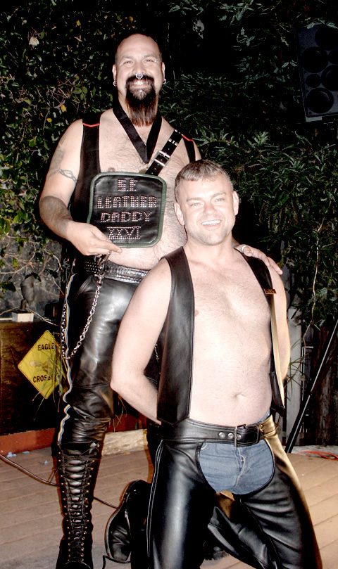 .......2 Hot....To All The Leathermen I've Loved Before.