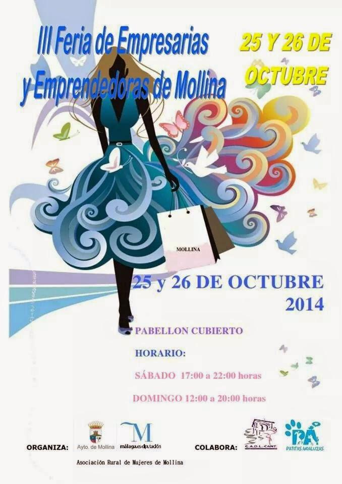 Almuruiz III Feria de Mujeres Empresarias y Emprendedoras de Mollina