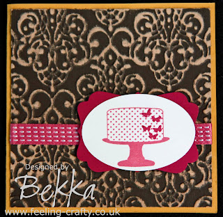 Cute Make A Cake Card by Bekka www.feeling-crafty.co.uk