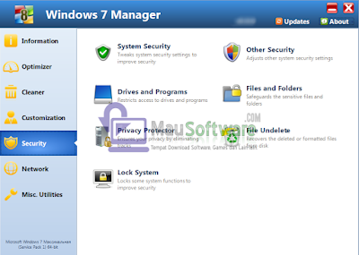 Free Download Windows 7 Manager Latest Version Full