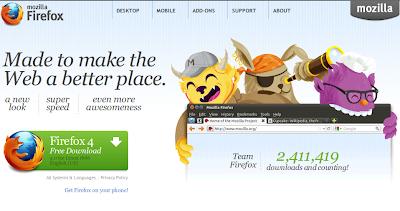 Install Firefox 4 for Ubuntu 10.04 and 10.10 users Via PPA Rerository