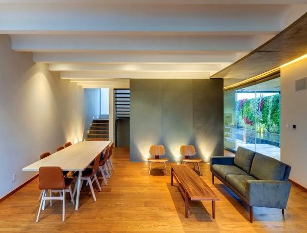 interior kayu minimalis