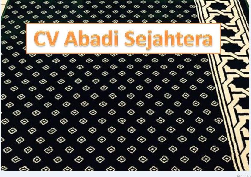 Jual Karpet Masjid Tebal Polos Distributor Empuk