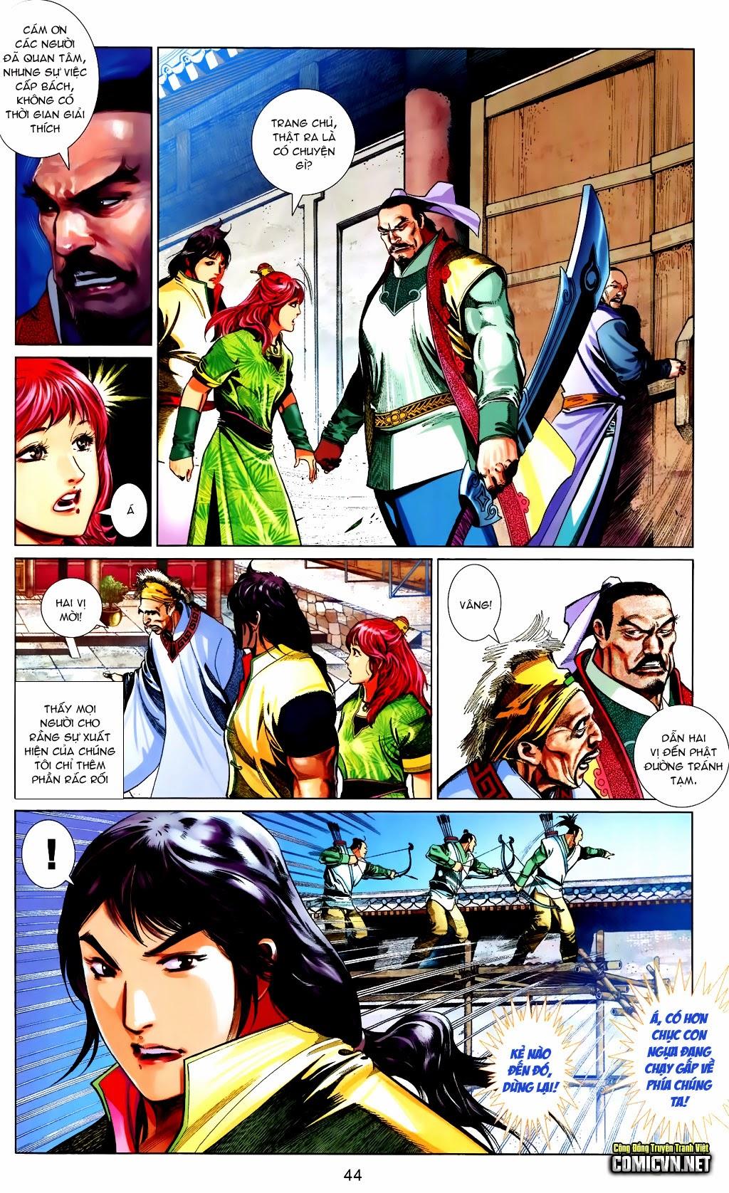 Phong Vân Chap 663 - Trang 44