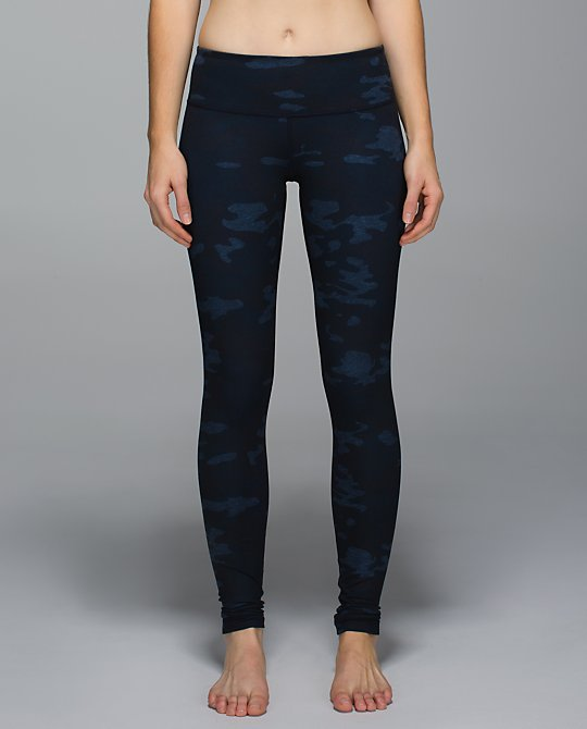 lululemon lotus camo wunder under pant