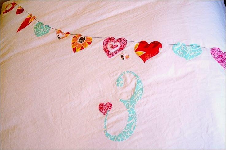 Украшаем покрывало для детской комнаты