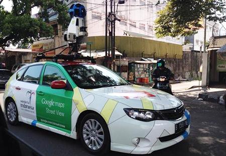 Mobil Google Street View Sudah Sampai Trenggalek