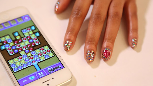 Nail Art Diamonds