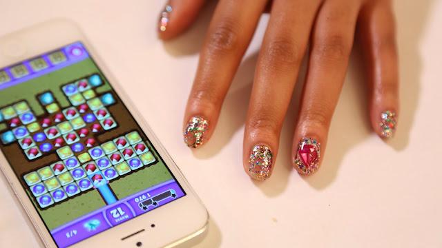 Nail Art Diamonds