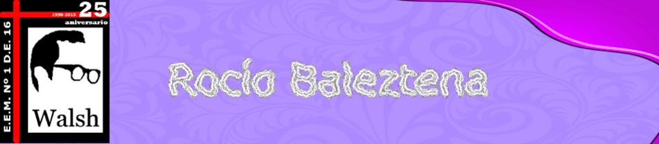 Rocio Baleztena
