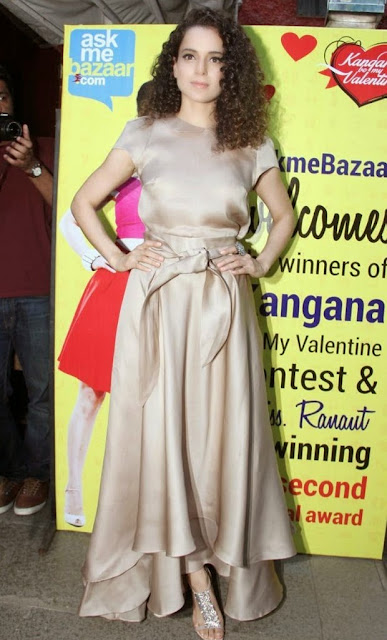 Kangana Ranaut Stills and Greets Ask Me Bazaar Contest Winners Event