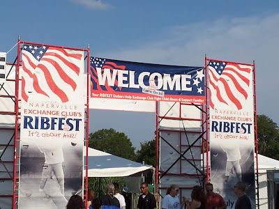 Ribfest in Naperville
