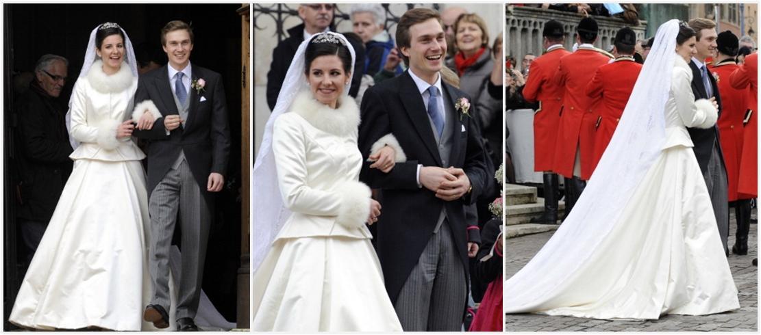 The Royal Order Of Sartorial Splendor Wedding Wednesday Three Brides Austria