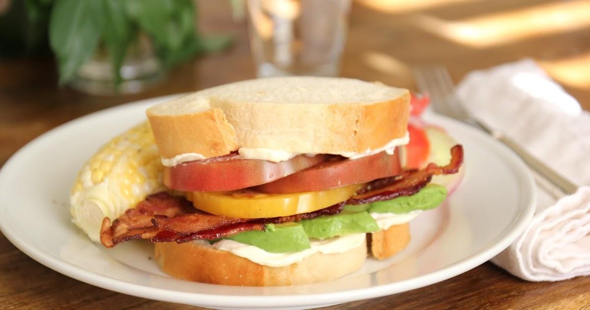 Jenny Steffens Hobick: Bacon, Avocado & Heirloom Tomato ...