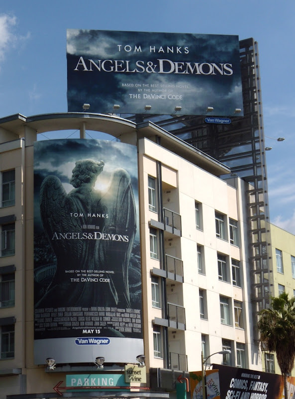 Angels and Demons movie billboards