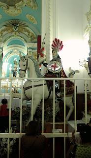 Capadócia, Ogum, Manto de São Jorge, Cavaleiro