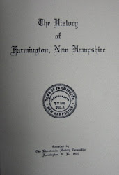 History of Farmington New Hampshire