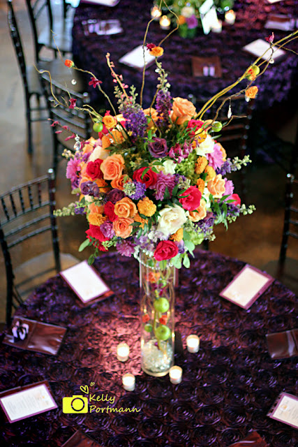 San Antonio Wedding Photographer, Beautiful Wedding Centerpieces, Purple Wedding