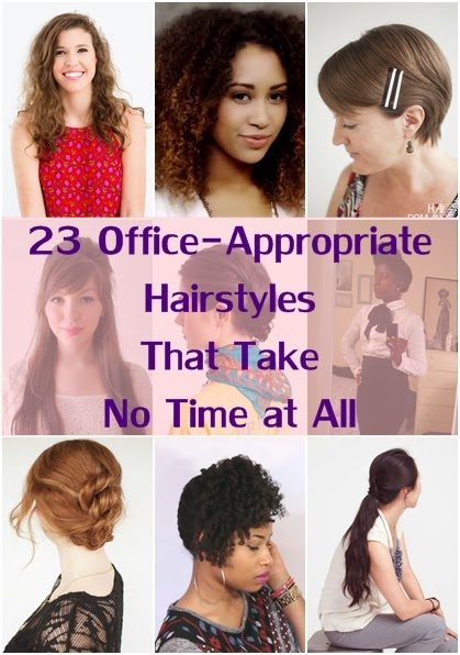 23 Office-Appropriate Hairstyles That Take No Time at All