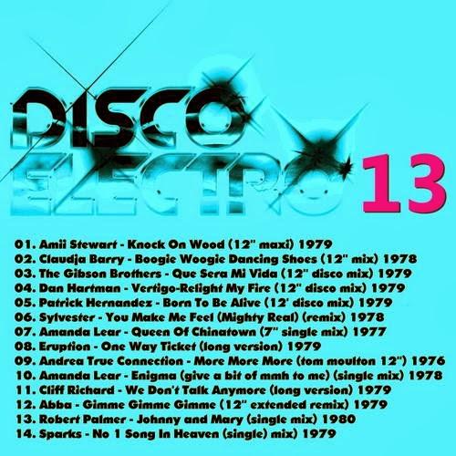 Disco Electro 13 electro synth disco classics 70′s & 80′s  2013
