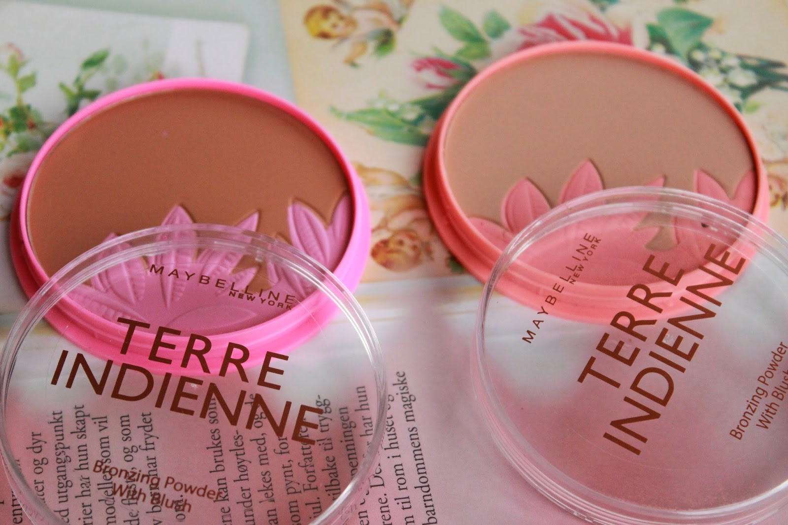 review swatches maybelline terre indienne poeders bronzed paradise golden tropics