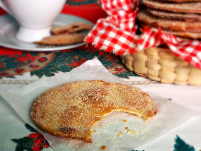 Flour Tortilla Buñuelos - lacocinadeleslie.com