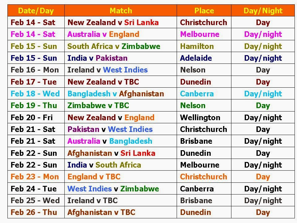Ipl 2016 Time Table Image Full Hd | Calendar Template 2016
