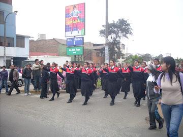 SIEMPRE CAMPEONAS, CON PASO MARCIAL - 2011