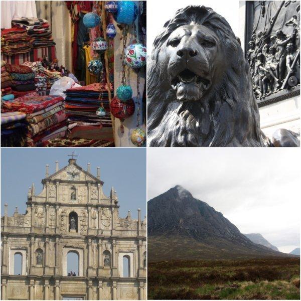 Bazar en Estambul, Trafalgar Square en Londres, Ruinas de San Pablo en Macao, Glencoe en Escocia – Escenarios Skyfall, la película de James Bond