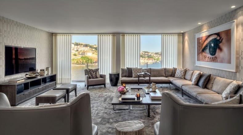 un apartamento en el selecto barrio de Foz en Oporto