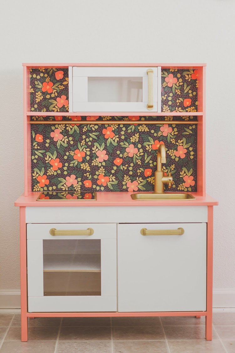 Keuken Kind Ikea : IKEA Duktig Play Kitchen Hack
