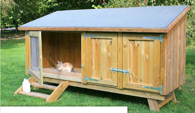 Big rabbit hutches awesome wallpapers for Awesome rabbit hutches