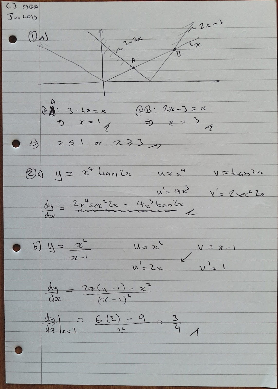 Mei numerical methods coursework mark scheme