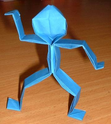 origami man didier 3d make origami easy instructions for
