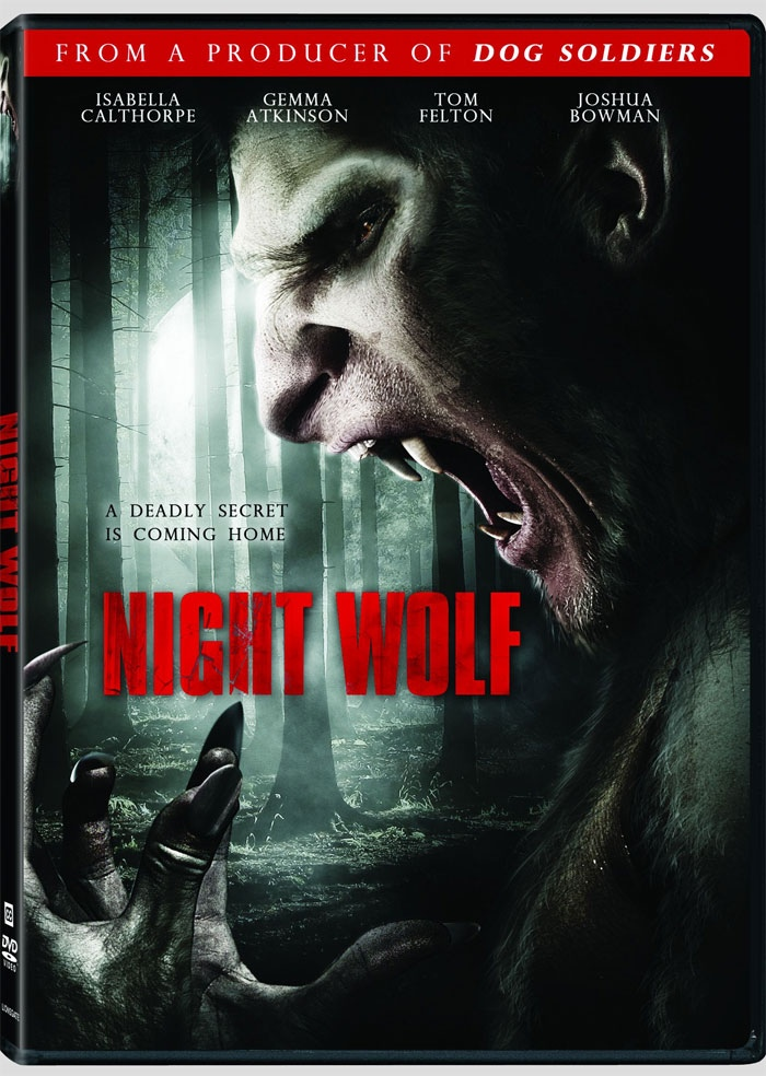 Dvd Cover Art And Release Date For Lionsgates Night Wolf Alien