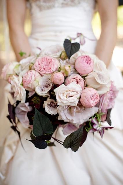 bukett rosa trädgårdsrosor, bukett gammalrosa, bouquet vintage pink garden roses, bouquet roses vintage pink