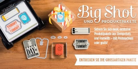 BigShot Produktpaket-Aktion bis 31. August 2014