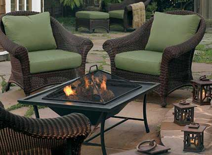 If The Lamp Shade Fits: Fire pits are NOCD