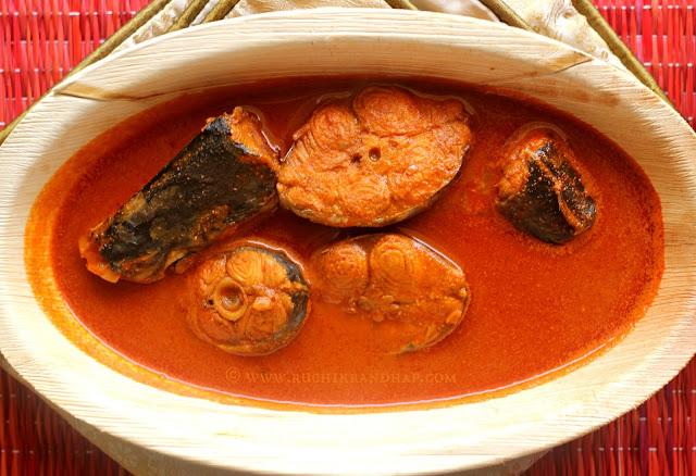 Ruchik Randhap (Delicious Cooking): Goan Fish Curry