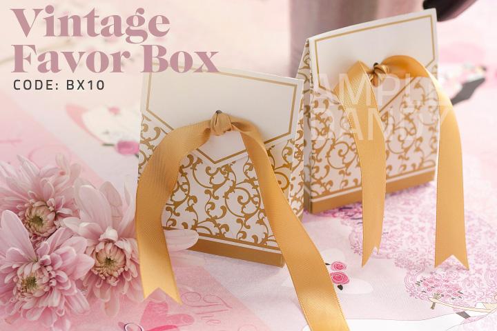 Vintage Favor Box Item Name Vintage Favor Box Item Code BX10