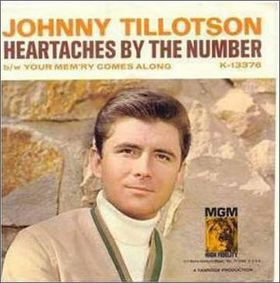 Johnny Tillotson It Keeps Right On A Hurtin She Gave Sweet Love To Me