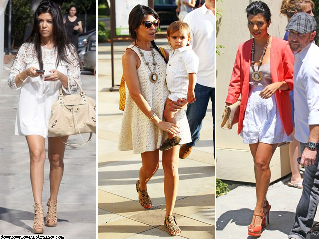 Estilo Kourtney Kardashian, Kourtney Kardashian, Kourtney Kardashian vestidos, Kourtney Kardashian sandálias, Kourtney Kardashian acessórios, Kourtney Kardashian colar, Kourtney Kardashian Mason