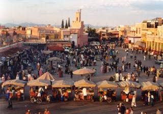 Djemaa el Fna Marraquexe Marrocos