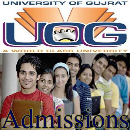 University of Gujrat Admissions
