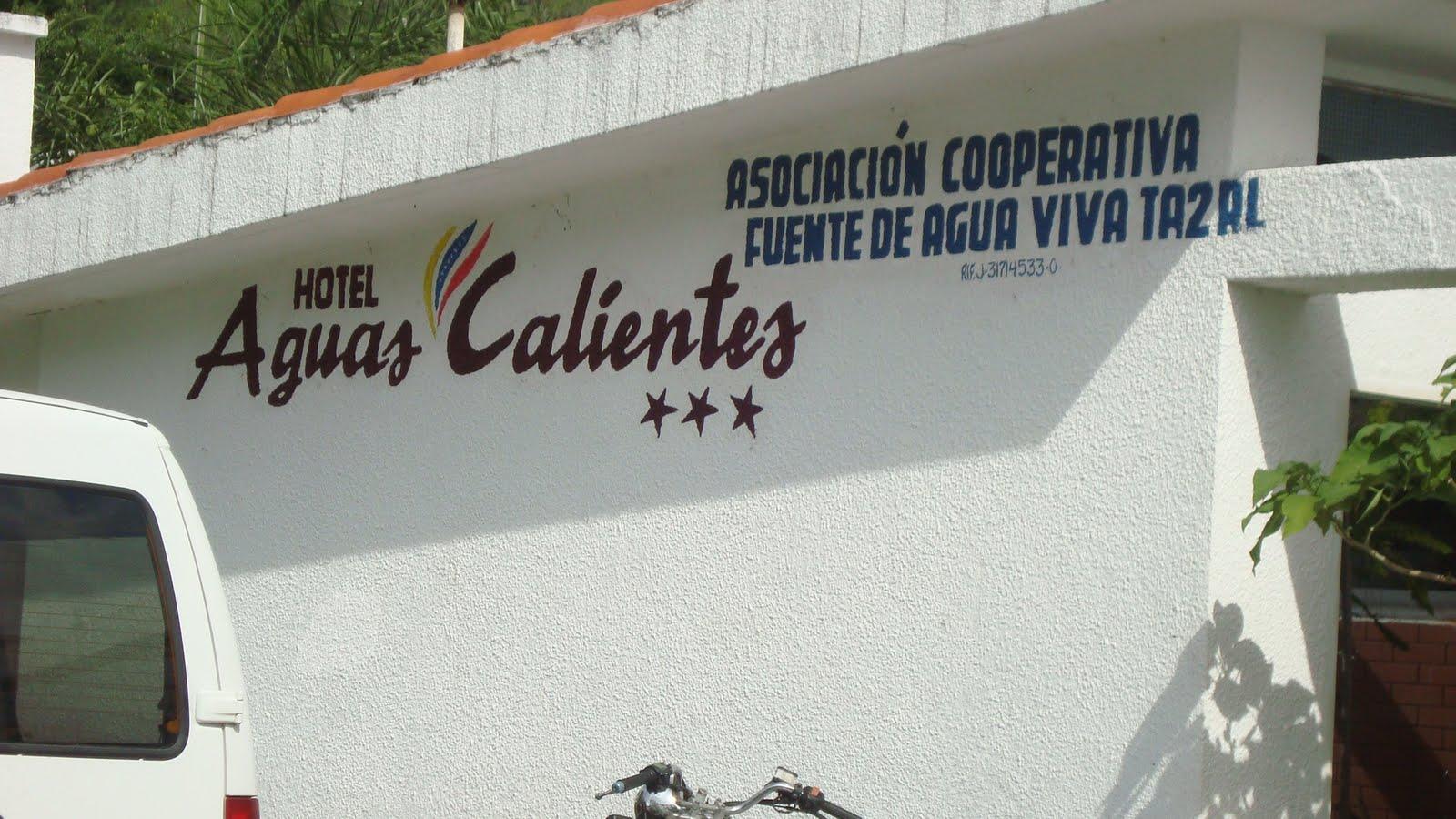 Hotel Aguas Calientes Municipio Pedro Maria Ureña Estado Tachira