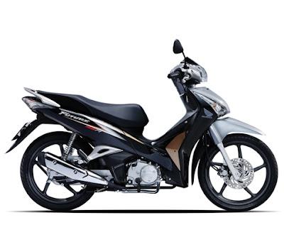 Honda Future 2012 - Đen Xám Vàng